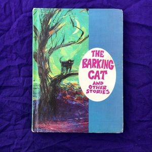 60s Vintage Childrens Story Book: The Barking Cat